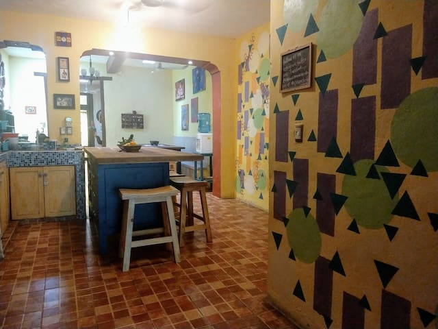 """Breakfast included every morning, and kitchen available for guest use anytime.   """"One of the best parts of our stay was chatting with Erin around the kitchen table during the tasty breakfasts she made every morning."""" --Naomi"""