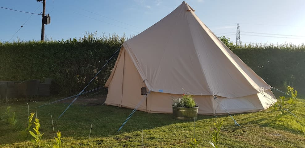 Gwen The Bell Tent Glamper