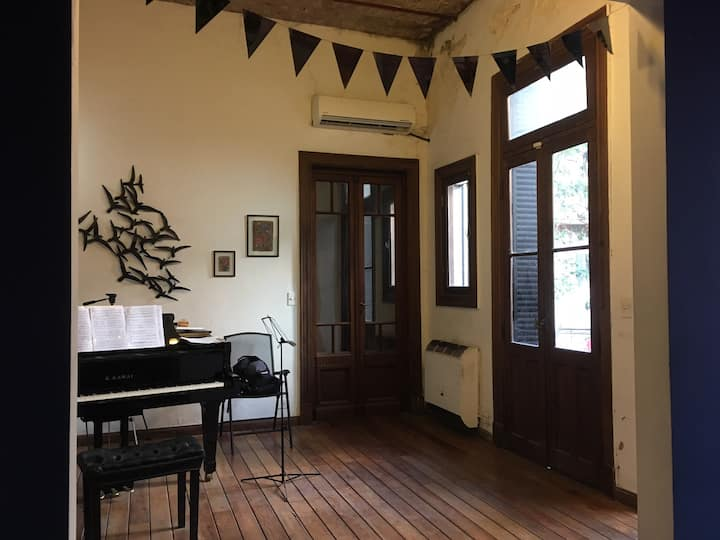 Hogar de un pianista