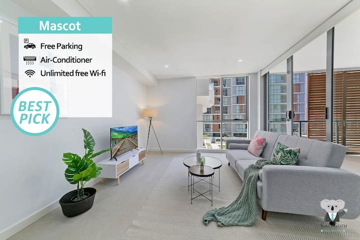 """""""Mid-long term available Inquire"""" Mascot Station Modern Design 2Bed APT NMA260-3"""