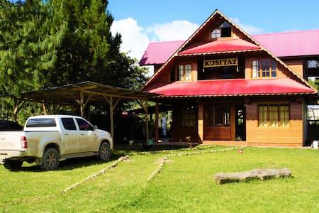 💓💓💓💓 Cabaña Tirolesa  Oxapampa - 6 personas
