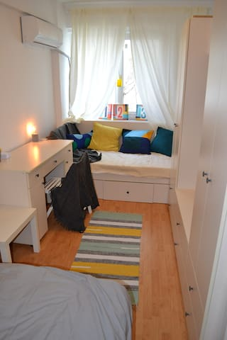 Snug hygge studio walking distance from the center