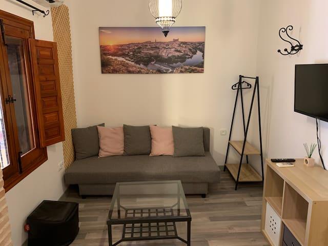 Para vivir la experiencia Toledana, apartamento.