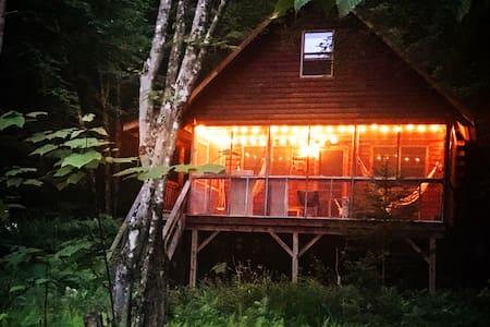 The Beaver Den: A rustic riverfront hideaway