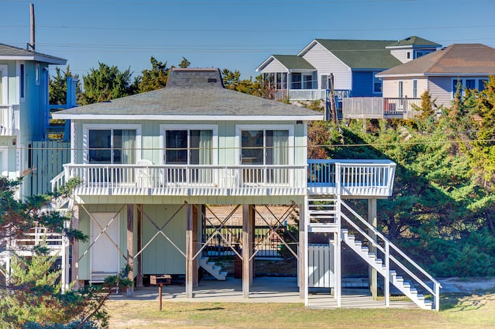 Semi-Oceanfront Beach Cottage - Avon - Byt