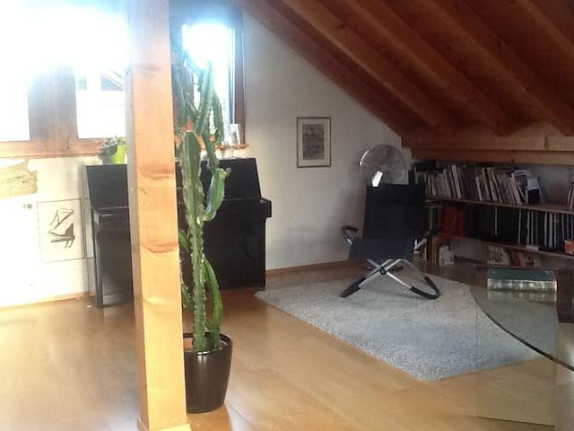 Der Dachstockraum zum Sein - Muttenz - บ้าน