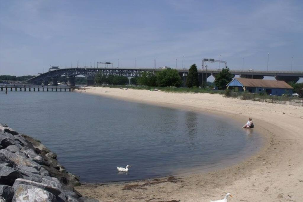 Beach at Yorktown