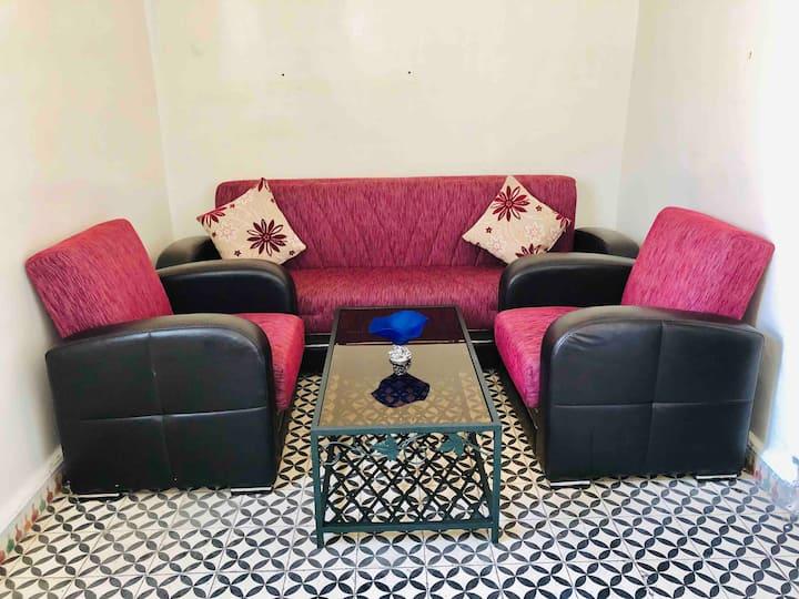 Casablancas Houria flat for rent
