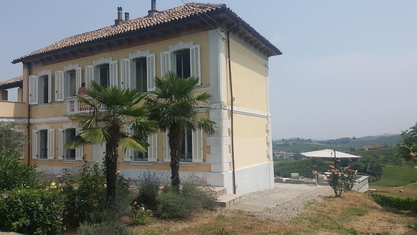 Unique house in a Barbera vineyard in Piemonte