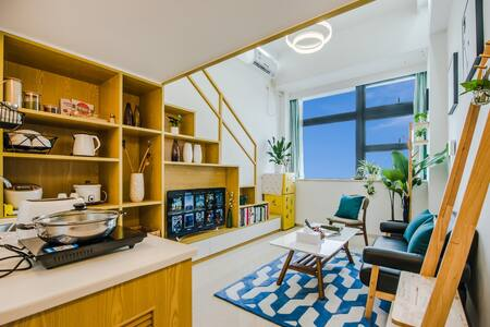 厦门-优家假日 7号短租民宿公寓 BRT、机场、商场沿线复式 - Wohnung