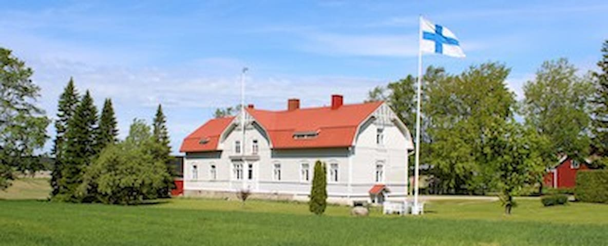 Manor house Haukkala - Salo - Ev