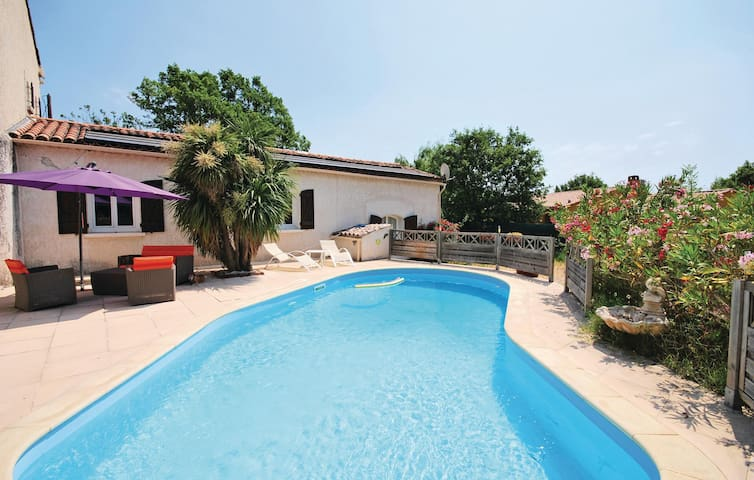 Beautiful home in Le Luc with WiFi and 0 Bedrooms