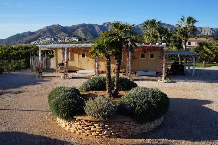 Privatzimmer auf Finca, meernahe Naturoase