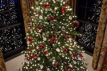 Just after Thanksgiving, it becomes Christmas at Legacy Ranch!  You & your family will enjoy the magic of Christmas in the Sieben Salthaus where each and every room has been decorated just for you!