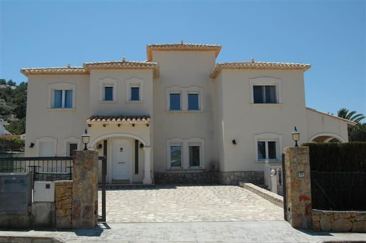 A large luxury villa with 4 bedrooms