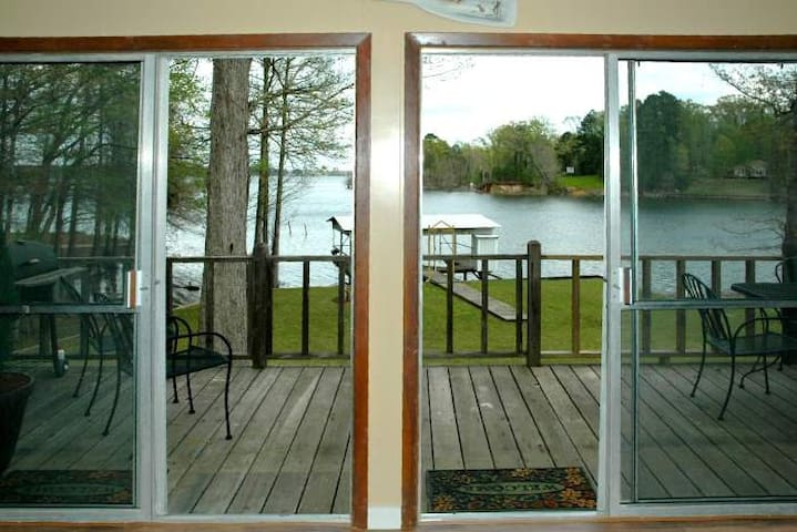 Beautiful Home on Toledo Bend Lakefront - Midlake - Many - Cabana