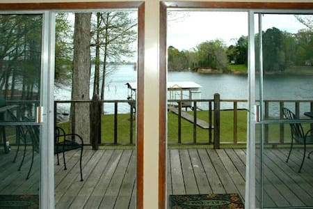 Beautiful Home on Toledo Bend Lakefront - Midlake - Many - Blockhütte