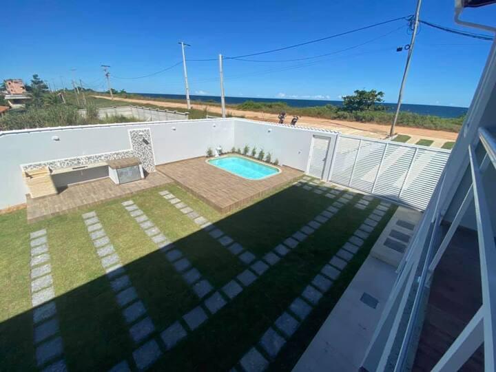Exclusividade à Beira Mar em Jaconé - Saquarema