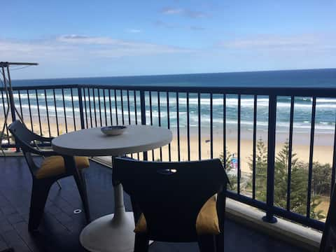 Ocean Front unit with great views