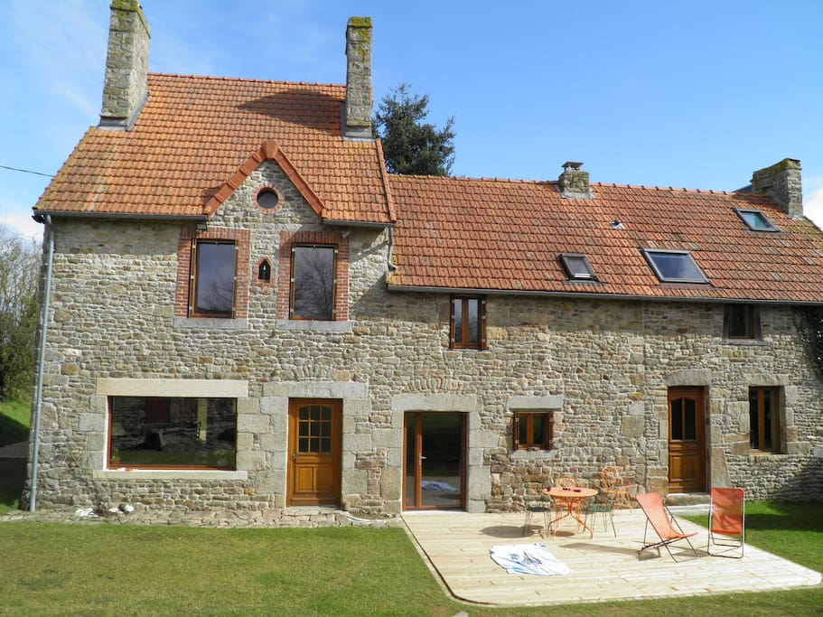 Maison de campagne mt st michel houses for rent in sartilly basse norman - Maison campagne normandie ...