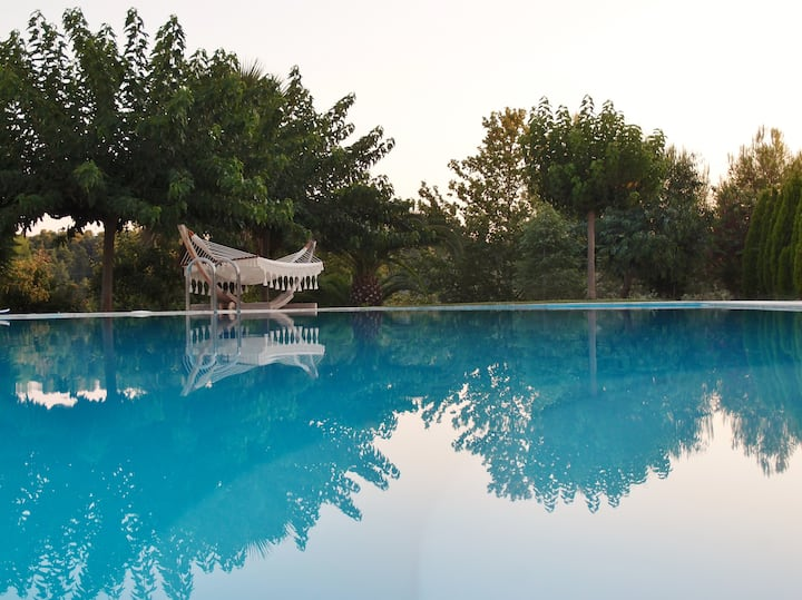 Ancient Olympia –A dream escape in villa with pool