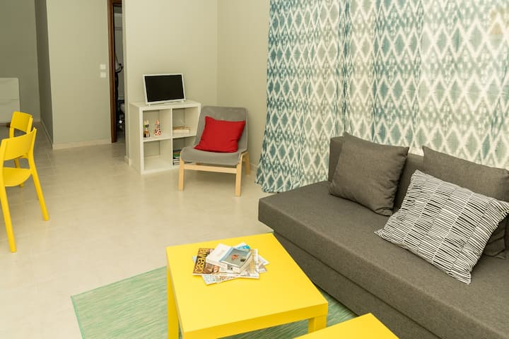 Bright, one-bedroom apartment in Thessaloniki S21