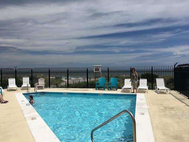 Oceanfront condo on Wrightsville Beach, NC