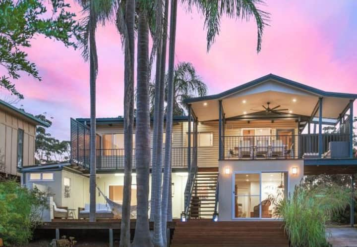 THE PALMS  - Gorgeous Beach House in Mollymook