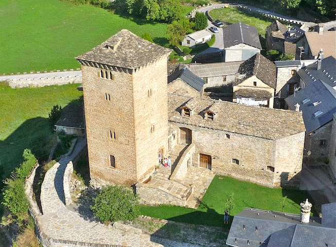 1. 15th Century Tower -  Ordesa Nat.Park,  Pyrenes