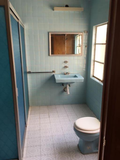 Private bathroom - Bano privado