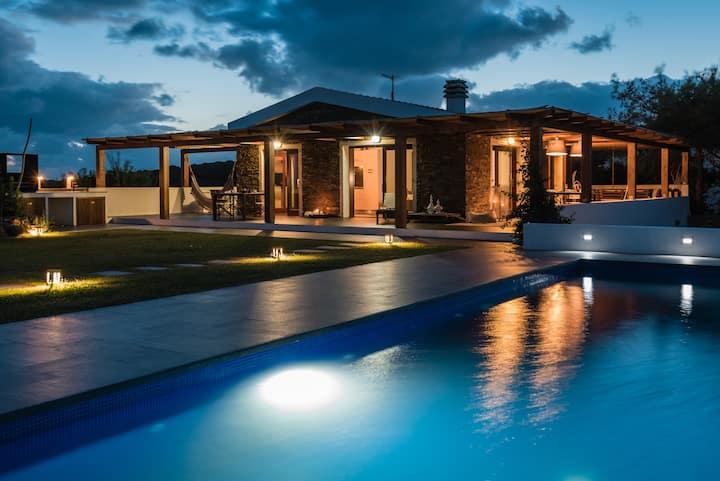 Villa Altxor con piscina