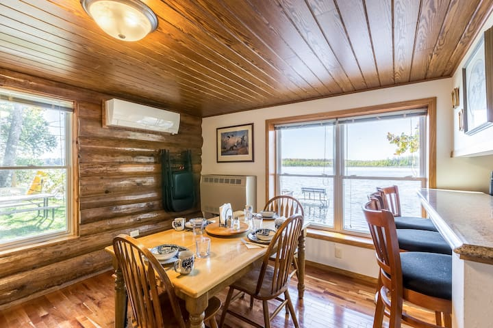 Dining Room has seating for up to 9 people.
