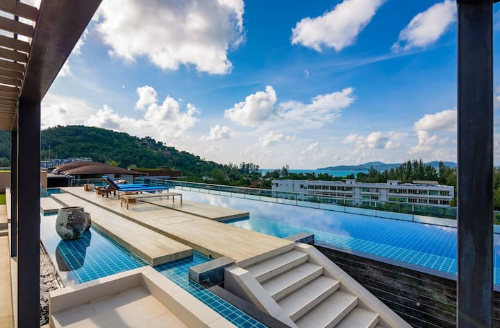 Mountain View Apartment @Surin&BangTao beach -650m
