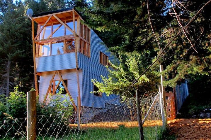Casa con Vista al Lago, en plena naturaleza.