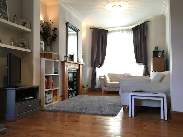 2 Bed House Close to City Centre - Cardiff - Rumah