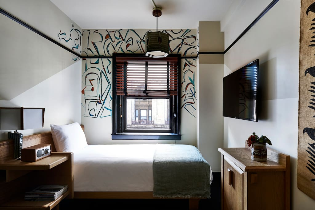 Freehand new york artist room boutique hotel in affitto for Sistemazione new york