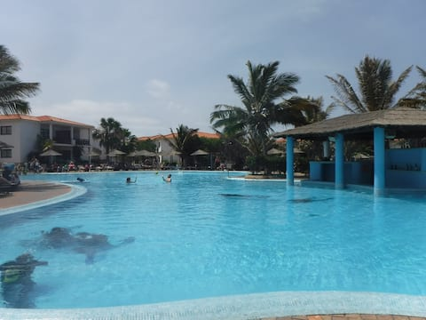 Tortuga beach resort ground floor pool side