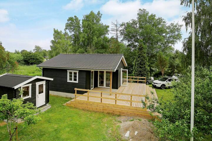 4 person holiday home in Skibby
