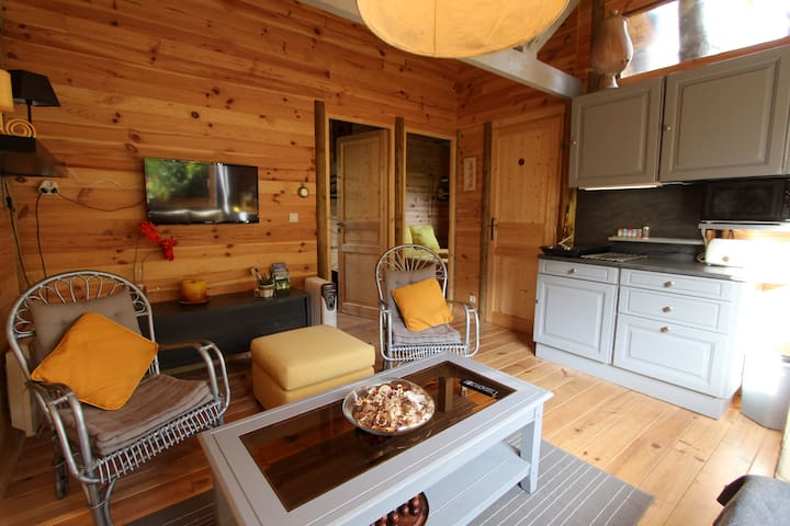 Etapeboisee Chalet Chataigne Chalets For Rent In Fumay Grand