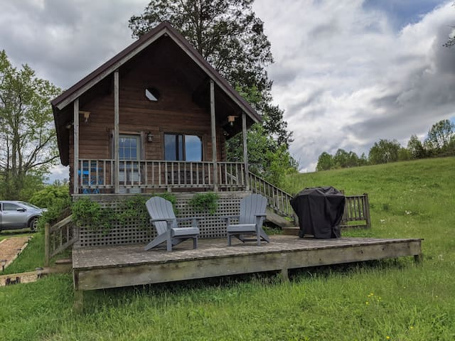 Cabin Getaway*Clean Protocol*Views*River*Grill