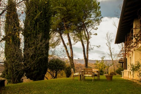 La Rovaia, nature and art in the nearby of Asolo