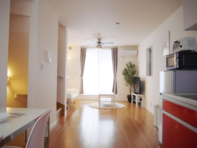 Direct from Airport|Shinagawa|3rooms|Max8|FreeWIFI - Shinagawa-ku - 一軒家