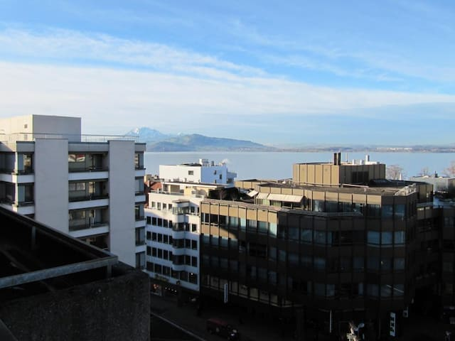 Beautiful 1.5 Room Apartment Zug stunning Lakeview