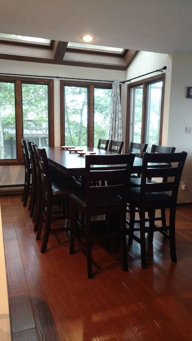 New Dining Table (seats 10)