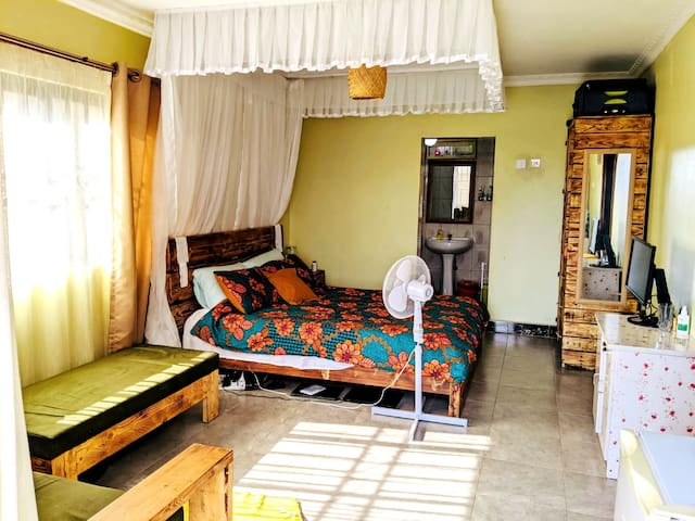 Bedroom view from the main entrance