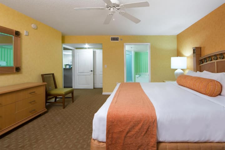NEW LISTING! 2BR Resort Condo - Free Water Park at Cape Canaveral Beach Resort