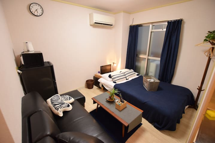 10 min from Dotonbori by walk! cozy room! TS-305