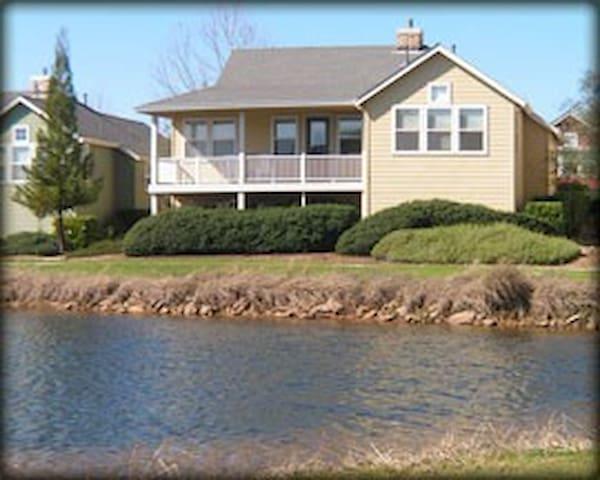 Golden Rule Cottage-Pond view