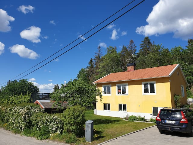 Beautiful fully equipped house in Enskede