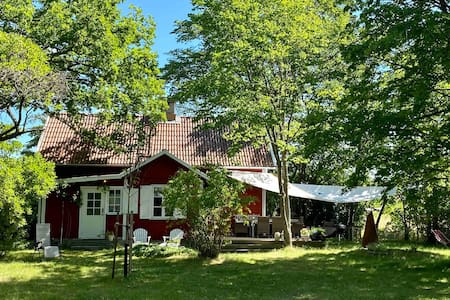 Well-equipped and cozy summer house near Visby